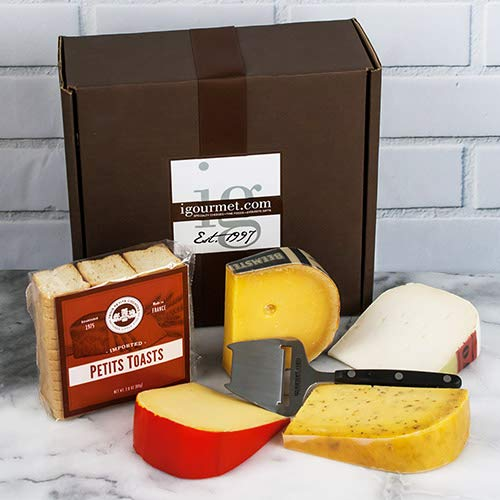 Dutch Cheese Assortment in Gift Box (2 pound) (Dutch Cheese)
