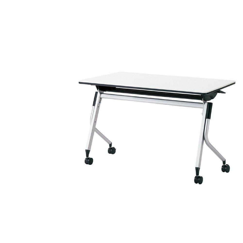 プラス Linello 2 フォールディングテーブル 高さ70cmタイプ 幕板なし LD-420-70 ホワイト 621925 B013JP4THC ホワイト ホワイト