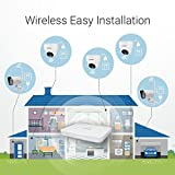 Zmodo Wireless Home Security Cameras System - 1080p 8CH HDMI NVR 500GB HDD- 4 HD Wide Angle Indoor Cameras and 4 HD Weatherproof Outdoor Camera System