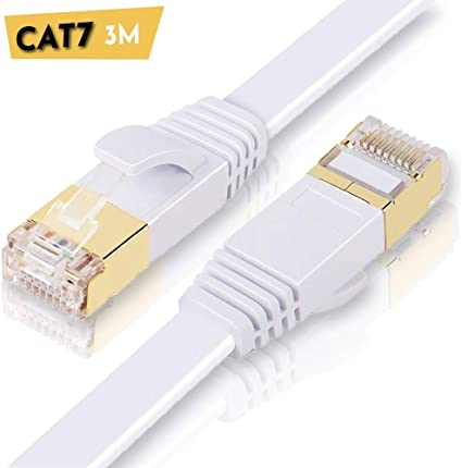 Cavo Rete Prolunga Gigabit RJ45 CAT.5 SFTP NERO 30 CM Rame CU Patch LAN Ethernet