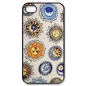 SUUER Rubber Silicone Custom Sun And Moon Celestia Personalized Custom Rubber Tpu CASE for iPhone 5 5s Durable Case Cover