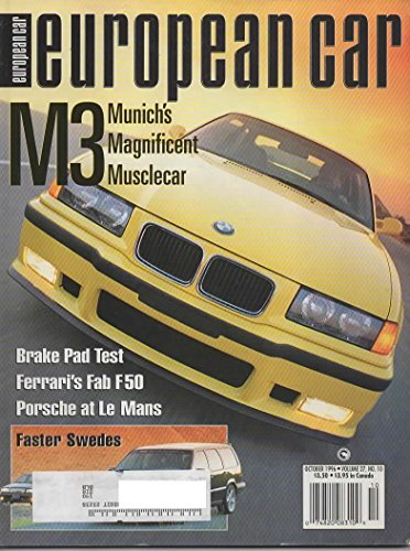 European Car Magazine, October 1996 (Vol 28, No 10)