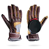 Loaded Boards Leather Advanced Freeride Longboard Slide Glove (Small/Medium)