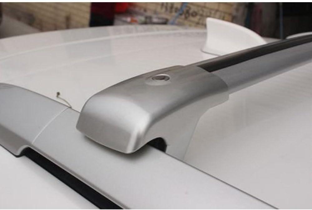 Silver Adjustable Cross Bars Crossbars Roof Racks Baggage Luggage Rail for Lexus RX RX270 RX350 RX450 2009-2015