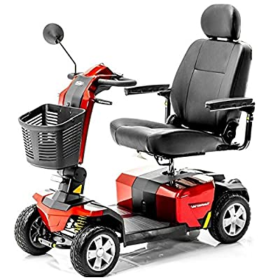 Pride Victory 10 LX with CTS Suspension 4-wheel - Red