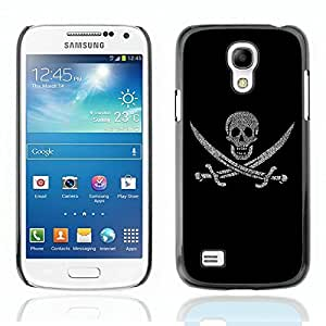 Generic Laughing Skull Death Design Hard Case Cover for Samsung Galaxy S4 i9500