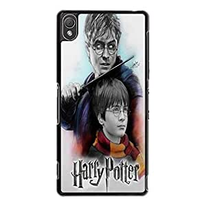 Friendly Sons Design Harry Potter Phone Case Cover for Sony Xperia Z3 HP Logo Custom Design