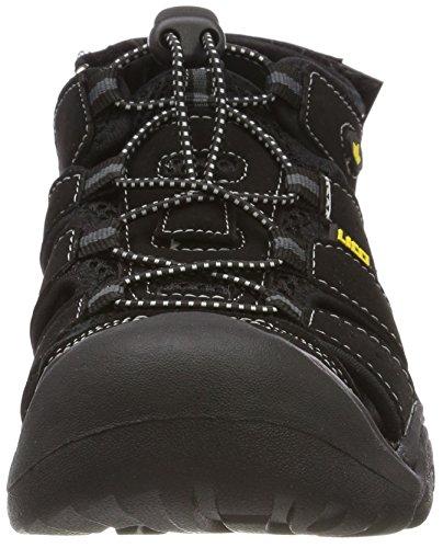 Low schwarz Men's Trekking Walking Schwarz Manchester Shoes E Lico UPqRwEZSx7