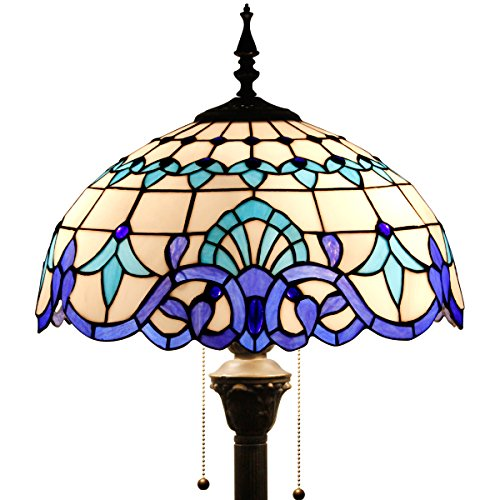 Tiffany Style Reading Floor Lamp Table Desk Lighting Baroque Design W16H64 - And Co Tiffany Colors