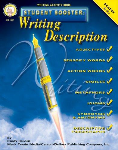Student Booster: Writing Description, Grades 4 - 8
