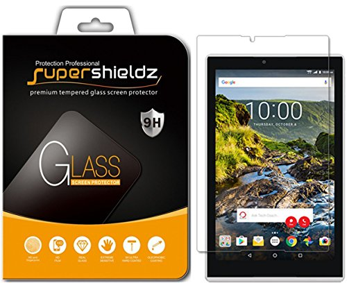 "Supershieldz for Verizon ""Ellipsis 8 HD"" (Not Fit For Ellipsis 8) Tempered Glass Screen Protector, Anti-Scratch, Anti-Fingerprint, Bubble Free, Lifetime Replacement Warranty Image"