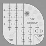 Creative Grids Non Slip Curved Corner Cutter Ruler