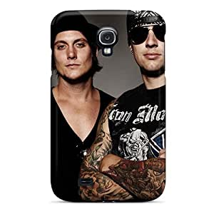 Galaxy S4 Cases Covers - Slim Fit Tpu Protector Shock Absorbent Cases (avenged Sevenfold)