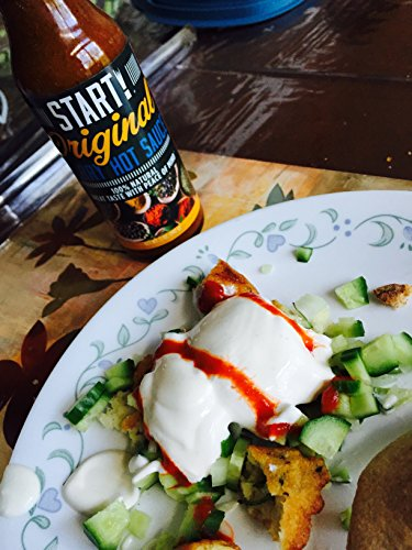 START! Curry Hot Sauce - Mix and Match Combo 2 Pack - Original and Pineapple Flavors - Vegan + Gluten Free - Everyday Gourmet Light Spice (2 pack)