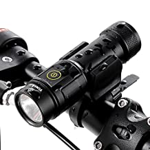 GranVela BC06 2-in-1 Super Bright USB Rechargeable Bike Light 1000 Lumens Waterproof Bicycle Headlight with Power Bank (Fits All Bikes; Cycling Clip Clamp Included)