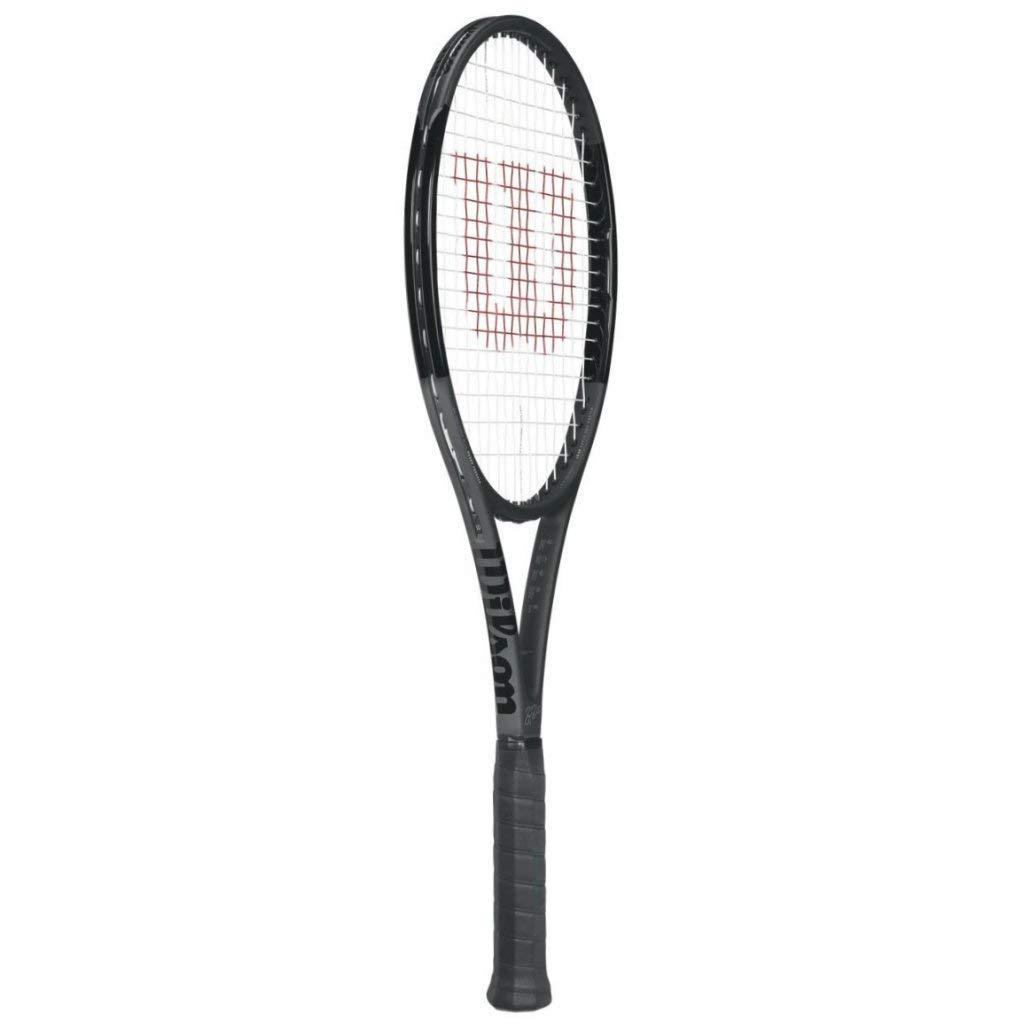Wilson Pro Staff RF 97 Black Federer Autograph Tennis Racquet - Quality String (4-5/8) RF97