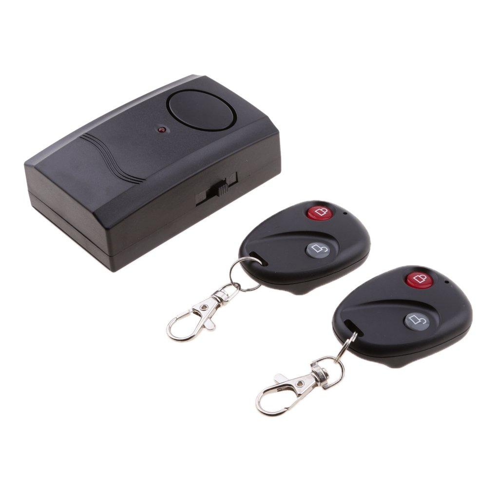 Gazechimp Alarma de Vibraci/ón de Control Remoto Herramienta de Antirobo para Motocicleta