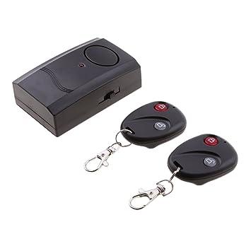 Alarma de Vibración con Control Remoto Antirobo para ...