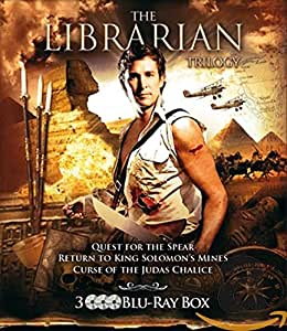 LIBRARIAN TRILOGY - MOVIE [Blu-ray]