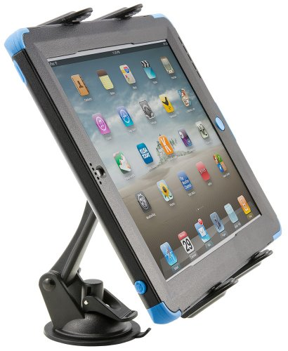 (Arkon Sticky Suction Windshield or Dash Tablet Mount for iPad Pro iPad Air Samsung Galaxy Tablets Retail Black)