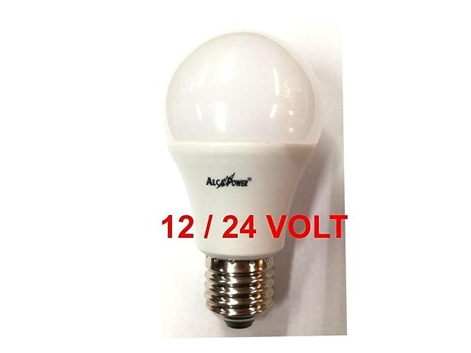 Bombilla LED con forma de gota, de 12-24 V, E27, 10