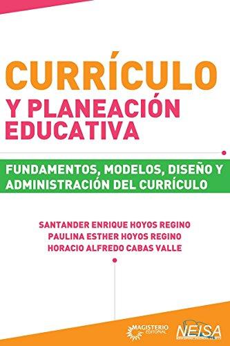 CURRICULO Y PLANEACION EDUCATIVA