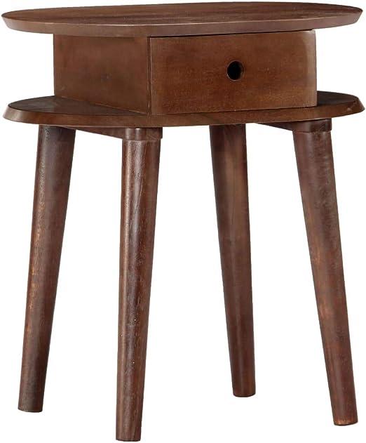 1//2x Nachttisch Nachtschrank Kommode Schublade Holz Telefontisch Nachtkonsole