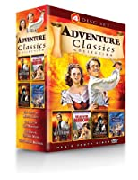 Adventure Classics Collection Count Of Monte Cristo Last Of The Mohicans Man In The Iron Mask Corsican Brothers by Henstooth Video