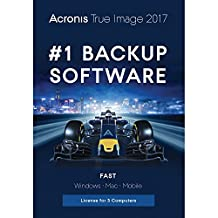 Acronis True Image 2017 for 3 Computers