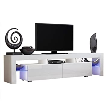 TV Stand Solo 200 Modern LED TV Cabinet/Living Room Furniture/Tv Cabinet  fit for up to 90-inch TV Screens/High Capacity Tv Console for Modern Living  ...