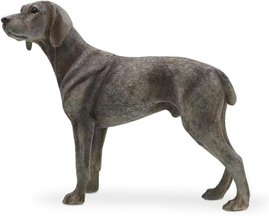 AIJOAN-BJ Estatuas Estatuillas Decoracion Weimar Modelo De Perro Simulación Decoración De Perros Decoración De Automóviles