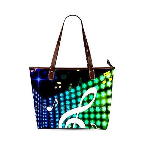 Music Custom Interest Print Tote Bag - Earthway Bag Seeder