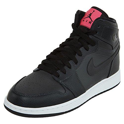 Jordan 1 Retro High GG Big Kid's Shoes Anthracite/Black 332148-004 (7.5 M US) by Jordan