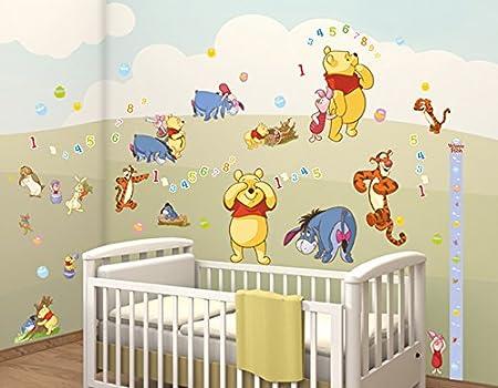 Walltastic Disney Winnie the Pooh Room Decor Kits, Multi-Colour ...