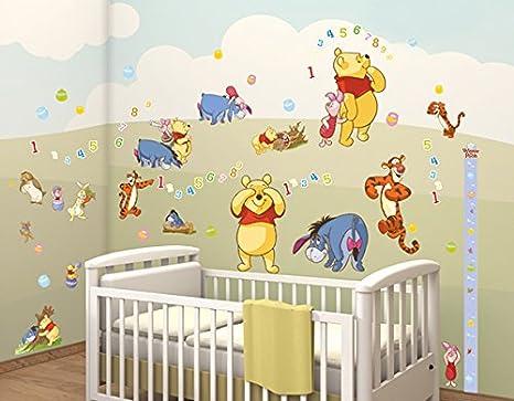 Stickers Cameretta Disney : Walltastic winnie the pooh disney kit decorazione stanze carta
