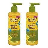 #3: Alba Botanica Hawaiian Enzyme Face Cleanser, Pineapple, 8 oz (2pack)