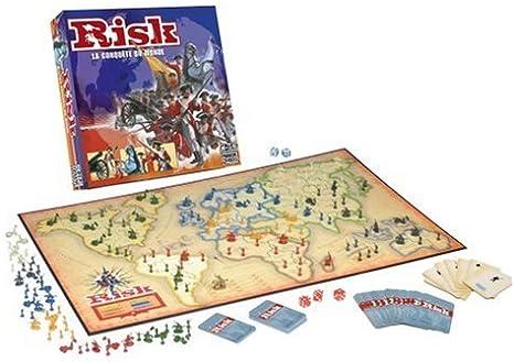 Hasbro - Risk clásico, Juego de Estrategia (versión en francés ...