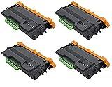 A PLUS Remanufactured Brother TN880 (4 Black) For Use With Brother Color LaserJet HL-L6200DW HL-L6200DWT HL-L6300DW MFC-L6800DW MFC-L6700DW