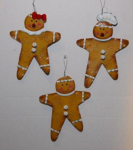 Small Gingerbread Man Hanger 3 Asst