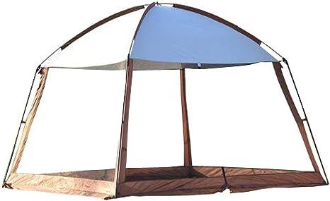 Tienda al Aire Libre Grande 8-10 Personas Camping Barbacoa Pérgola Toldo Familia Autoconducción Mochila portátil Canopy de Escalada: Amazon.es: Deportes y aire libre