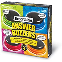 Learning Resources Recordable Answer Buzzers Set of 4