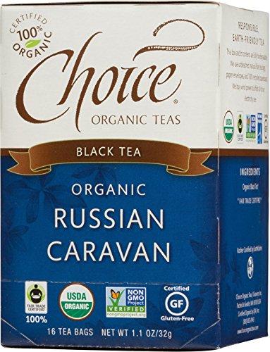 Check expert advices for choice russian caravan tea?