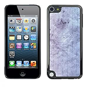 MOBMART Carcasa Funda Case Cover Armor Shell PARA Apple iPod Touch 5 - White Colored Cloud Pattern