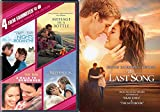 Nicholas Spark 5-Movie Bundle - The Last Song, Nights in Rodanthe, Message in a Bottle, A Walk to Remember & The Notebook 5-DVD Bundle