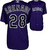 Nolan Arenado Colorado Rockies Autographed Majestic Purple Replica Jersey - Fanatics Authentic Certified