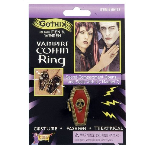 Forum Novelties Coffin Ring