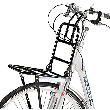 Front-Gepäckträger schwarz Fahrräder Fahrradgepäckträger Fahrrad Gepäckträger