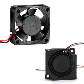 JGAURORA A3S A5 ventilador cuadrado para impresora 3D y turbante ...