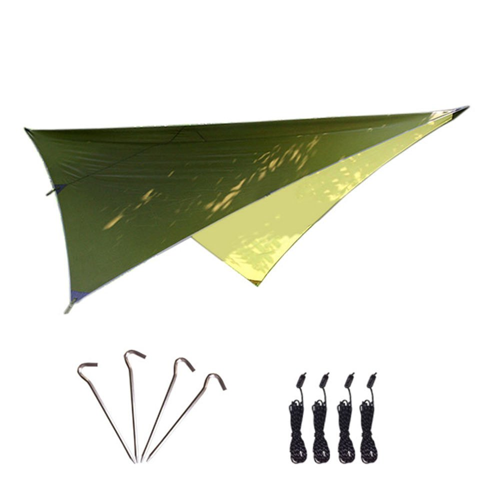Kisstaker Outdoor Hammock Canopy, Waterproof Protection Camping Canopy Lightweight, Easy Setup Hammock Tent Tarp by Kisstaker