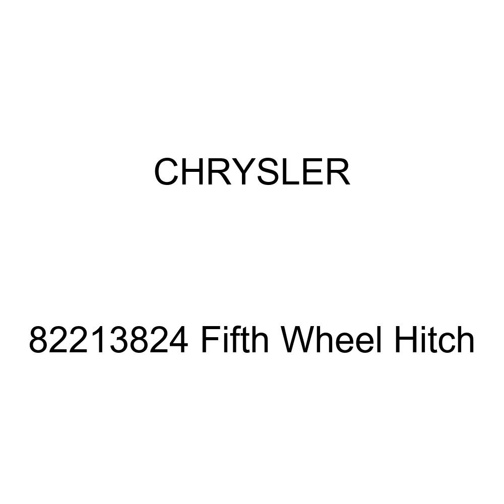 Chrysler Genuine 82213824 Fifth Wheel Hitch